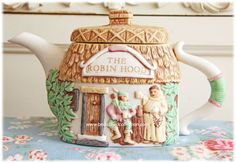 Be Dazzled Collection: Island of English Teapots...