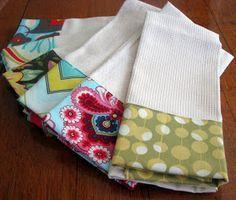 Bloom: Embellished Kitchen Towel How-To