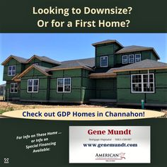 New construction opportunities exist for those seeking a first home or thinking of downsizing. Located in the Chicago Southland - special financing options exist