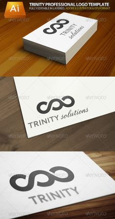 Trinity Infinity Professional  - Logo Design Template Vector #logotype Download it here: http://graphicriver.net/item/trinity-infinity-professional-logo-template/1673765?s_rank=507?ref=nexion