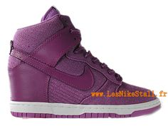 Officiel Nike DUNK SB GS - Chaussures Basketball Nike Pas Cher Pour Femme Rose 528899-ID5