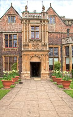 Charlecote Park, Warwickshire, England - one of the first great Elizabethan houses of the 16th Century.