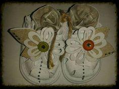 Vanhat kengät tuunattuna