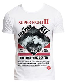 Joe Frazier, Muhammad Ali Boxing super fight T-Shirt £24 from Kiss Clothing