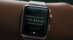kontoalarm: bald für die Apple Watch