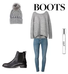 """""""Untitled #599"""" by kimberly58227 ❤ liked on Polyvore featuring Yves Saint Laurent, Eugenia Kim, H&M and philosophy"""