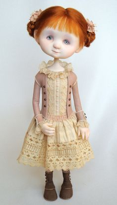 Nancy Art Doll by Ana Salvador of Dragonfly Works - Such a huge fan!  Move over Coraline ~