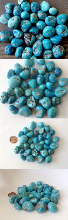 Stone 179273: Big Sleeping Beauty Turquoise Natural Nugget High Polish 20 Grams (3-5 Stones) -> BUY IT NOW ONLY: $59 on eBay!