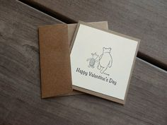 Winnie the Pooh Valentines-Kid's Valentines Cards-Winnie the Pooh Cards by Lemon Drops & Lilacs on etsy.com