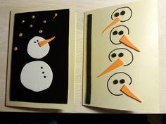 Joulukortit -Christmas cards Handicraft, Advent Calendar, Christmas Cards, Snoopy, Holiday Decor, Home Decor, Craft, Christmas E Cards, Decoration Home