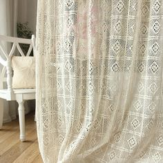 Shabby Chic Rustic 100% Cotton Simulated by ShabbyChicLinenC