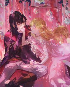 Manhwa Manga, Manga Anime, Anime Art, Anime Couples Drawings, Couple Drawings, Anime Love Couple, Cute Anime Couples, Anime Prince, Manga Collection