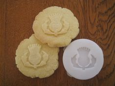 THISTLE COOKIE STAMP recipe and instructions - make your own decorative cookies