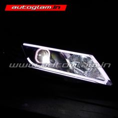 Honda City Projector Headlights have wonderful output, it is compatible to any road and weather condition. These car headlights are must have for all Honda users. Projector Headlights, Car Headlights, Hidden Projector, Honda City, City Car, Style, Swag, Stylus, Outfits