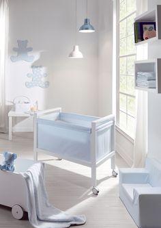 Orson azul small crib Moon