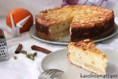 karolina-azzaro: Pomarančovo mandľový Cheesecake  (Ricotta)