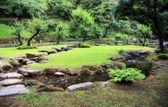 Senganen Gardens, Kagoshima, Kyushu, Japan.
