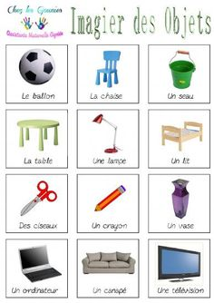 Imagiers objets Autism Learning, Autism Education, Learning Activities, French Flashcards, French Worksheets, French Teaching Resources, Teaching French, Online Language Courses, French Kids
