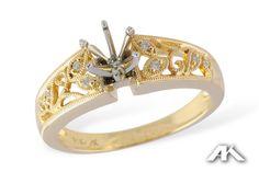 What gorgeous detail! www.melodysqualityjewelry.com