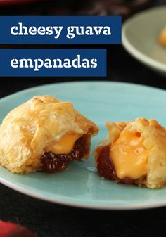 Cheesy Guava Empanadas - These tasty empanadas make the perfect appetizers to serve at your next get-together. Plus, this easy-to-make recipe can be assembled ahead of time!