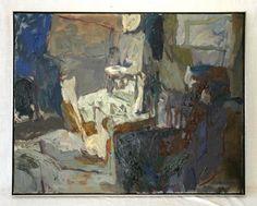 Elisabeth (Liz) Cummings ( b1934) Australia - Evening Verandah, 1989 Oil on canvas, 65.5 x 83 cm