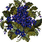 Stewart Merrett - Antique Inspirations floral cross stitch designs