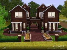 Modern House Ideas For Sims 3 Blueprints New Centex Homes Floor. cool house ideas for sims 3 xbox. Sims 2 House, Sims 4 House Plans, Sims 4 House Design, Sims Free Play, Free Sims, Sims 3 Houses Ideas, Sims Ideas, House Ideas, Casas The Sims 3