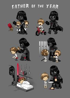 Star Wars Art Discover Father of The Year an art print by Dooomcat - INPRNT (Not for my dad but for hubby from the boys) Star Wars Trivia, Star Wars Jokes, Star Wars Facts, Star Wars Comics, Star Wars Fan Art, Star Wars Clone Wars, Lego Star Wars, Star Trek, Morbider Humor