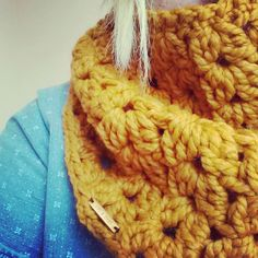 the denver warmer // butterscotch by OwlsNestCrochet on Etsy, $35.00