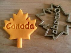 Canada-maple-leaf-CAKE-DECORATING-cookie-cutter Canada Maple Leaf, Cookie Cutters, Cake Decorating, Cookies, Cookie Recipes, Cakes, Biscotti, Cookie, Biscuit