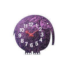 HORLOGE ZOO TIMER - ELIHU THE ELEPHANT - VITRA Les Zoo Timers sont des pièces intemporelles qui égayent la maison et permettent aux enfants d'apprendre l'heure tout en s'amusant. Disponible sur Silvera/eshop ! #VITRA #SILVERA