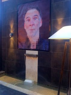 Tableau de Ced Vernay au New Hotel of Marseille