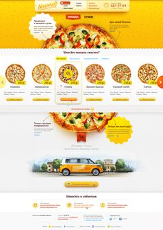 Wonderful pizza shop website. I love finding things that I wish I would have done.
