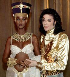 MJ and Iman