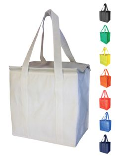 $6:07 for 100 including 1 colour printing Non Woven Cooler Bags