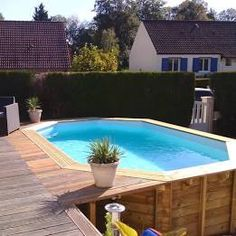 Grenada behandeltes Holzbecken L x B m Above Ground Pool Landscaping, Backyard Pool Landscaping, Small Backyard Pools, Small Pools, Swimming Pools Backyard, Lap Pools, Indoor Pools, Best Above Ground Pool, In Ground Pools