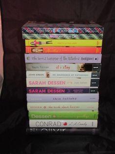 Teen Girl Young Adult 14 Mixed Book Lot Sarah Dessen Sara Shepard Ally Carter YA
