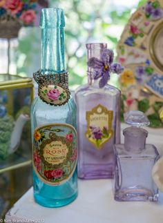 French perfume labels