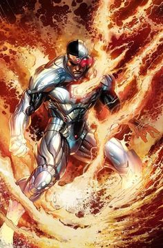 Discover recipes, home ideas, style inspiration and other ideas to try. Cyborg Dc Comics, Marvel Dc Comics, Zoom Dc Comics, Mera Dc Comics, Dc Comics Superheroes, Dc Comics Characters, Dc Comics Art, Comics Girls, Marvel Vs