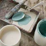 ANNIE SLOAN CHALK PAINT: No Sanding - No Priming - No Removing of old wax, old paint or varnish! Will stick to most things including plastic, stone, bricks, concrete and metal.