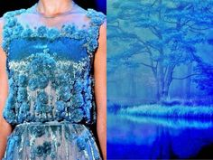 #Couture Based on Sketches of #Nature by #LiliyaHudyakova