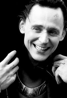 "Avenger photoshoot. Tom Hiddeston as ""Loki""  (credit on image)"