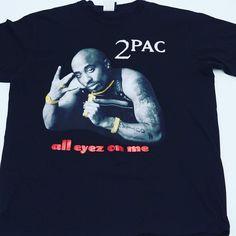 new styles b963d 497d7 Death Row Records 2005 Tupac Shakur All Eyes On Me Shirt