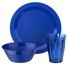 A quick and complete solution for your next outdoor party. Versatile enough to be used everyday and durable enough for use by the pool. The perfect break-resistant dinnerware set for the new college student or first apartment. These bowls, plates and cups are a great addition to any new kitchen.... - http://kitchen-dining.bestselleroutlet.net/product-review-for-cambridge-plate-bowl-and-tumbler-dinnerware-12-piece-set-blue/