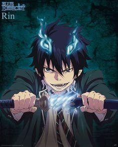 Poster Blue Exorcist Rin
