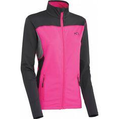 Lina F/Z Fleece vest roze/grijs dames