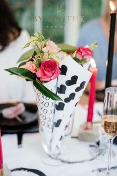 Bold and Beautiful: How to host your 'Gals' for Galentines Day Chocolate Dipped, Girlfriends, Party Favors, Celebration, Friendship, Brunch, Stationery, Bloom, Invitations