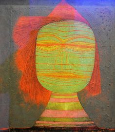 Paul Klee ~ Actor's Mask, 1924