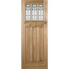 Majestic Triple Glazed Oak External Doors External Oak Glazed