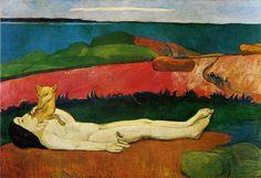 The loss of Virginity, 1891 Paul Gauguin